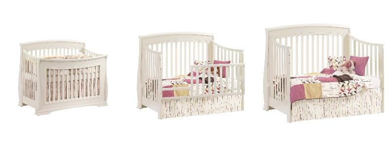 Nursery convertible cribs
